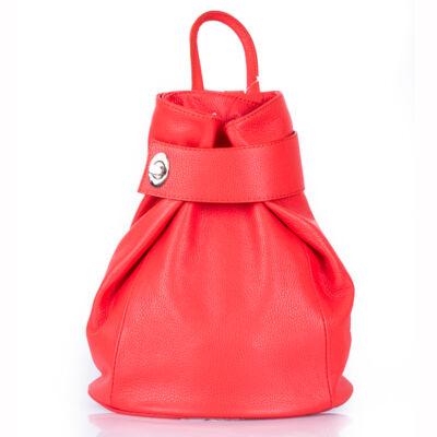 Valódi bőr női hátizsák Coral színben