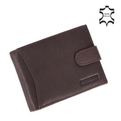 GIULIO valódi bőr férfi pénztárca ( 8 kártyatartó ),,