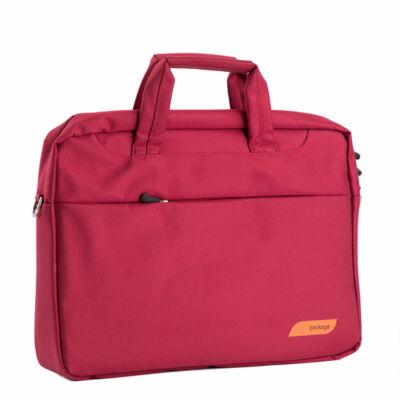 """Piros laptoptáska 17""""-os"""