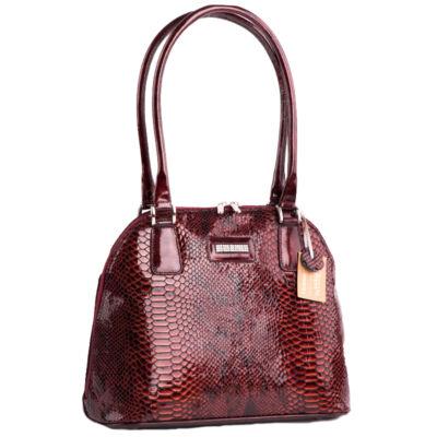 Lewitzky Swarovski köves valódi bőr női táska