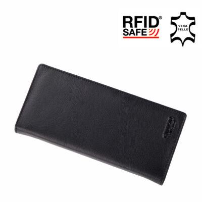 GIULIO valódi bőr férfi pénztárca RFID rendszerrel