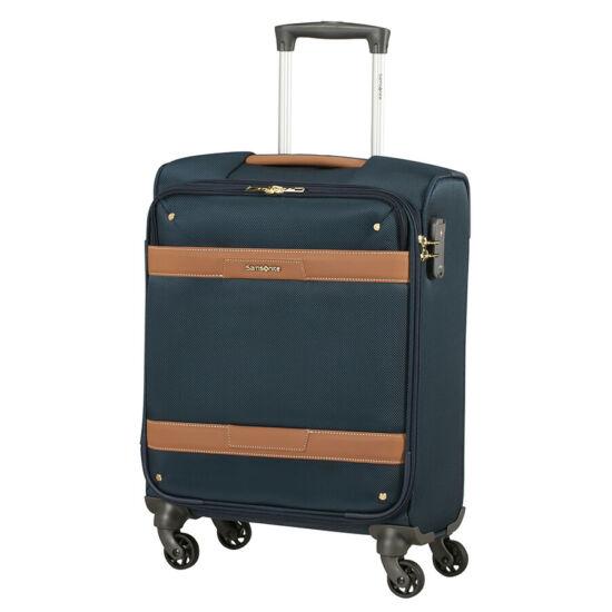 Samsonite Cadell Spinner bővíthető kabinbőrönd Kék 55 x 40 x 20 cm*