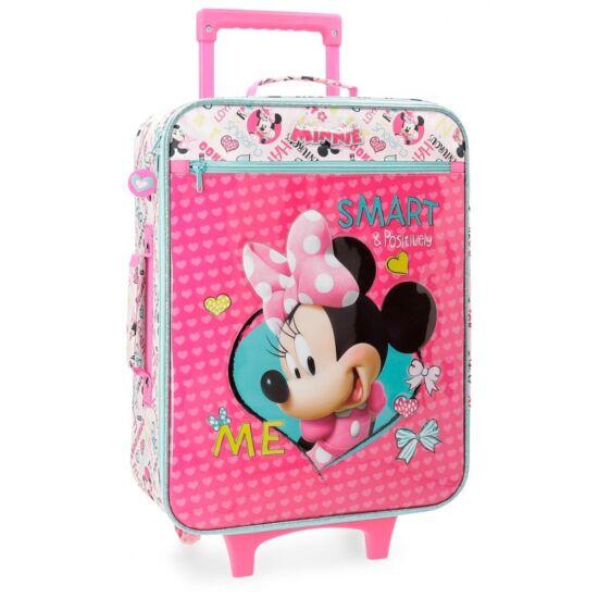 1017fb2f5db7 Disney Minnie 2-kerekes gyermekbőrönd - Akciós bőrönd - Etáska ...
