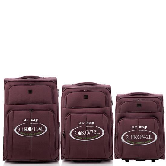 Touareg bőrönd szett 3 részes TSA zárral