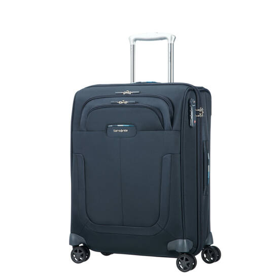 Samsonite Duosphere Spinner bővíthető bőrönd 55 cm
