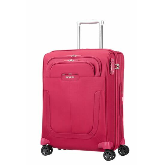 Samsonite Duosphere Spinner bővíthető bőrönd 55 cm - Wizzair méretű ... a3167e242e