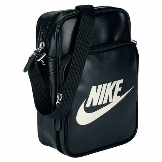 Nike oldaltáska BA4270 019 fekete-fehér