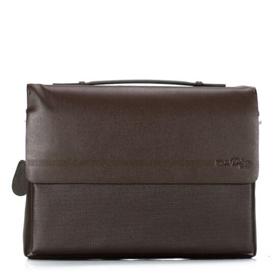 64a4eb2dda8d Irattáska barna színben - Aktatáska - Etáska - minőségi táska ...
