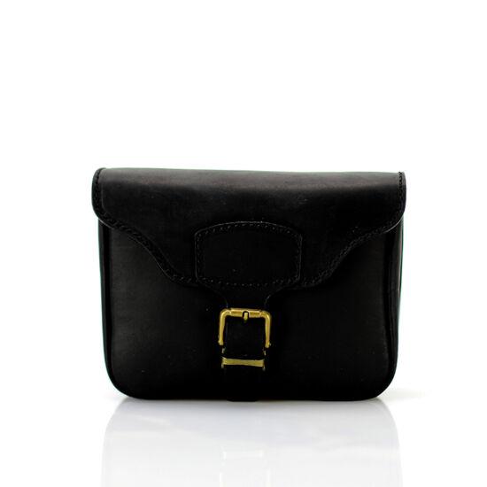Valódi bőr  övre fűzhető táska**