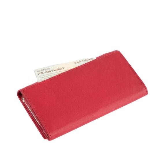 af12b34ea5f3 Fairy valódi bőr piros női pénztárca díszdobozban* - Fairy valódi ...