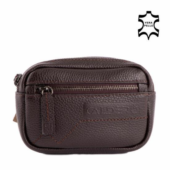 Calderón barna övre fűzhető zippes táska