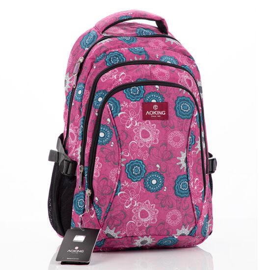Aoking hátizsák pink színben