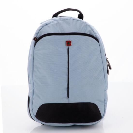 Swisswin laptoptartós hátizsák swc10010 kék AIR FLOW szellőző rendszerrel