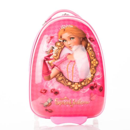 Hercegnős Gurulós gyermek bőrönd*