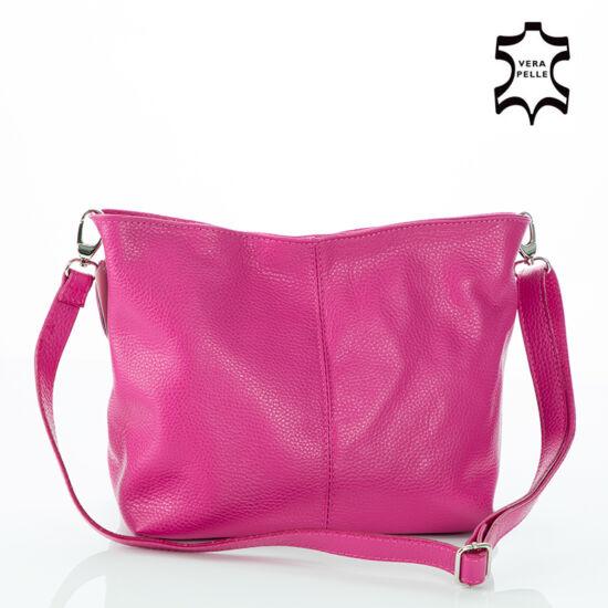 Valódi bőr női táska pink színben - Valódi bőr női táska - Etáska ... 428cbcc0ed