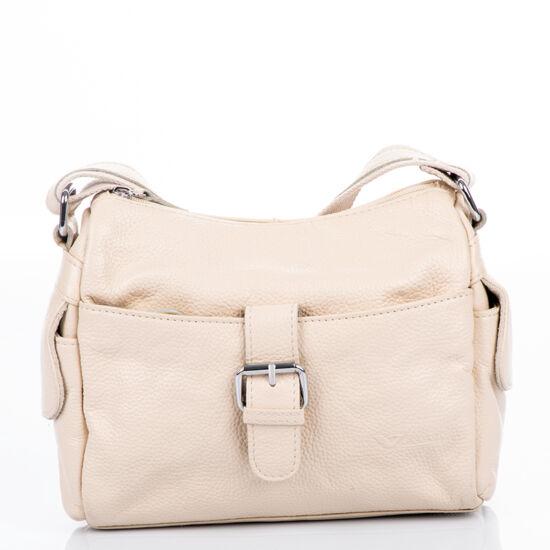 Vereva valódi bőr női táska bézs színben 100505 Beige