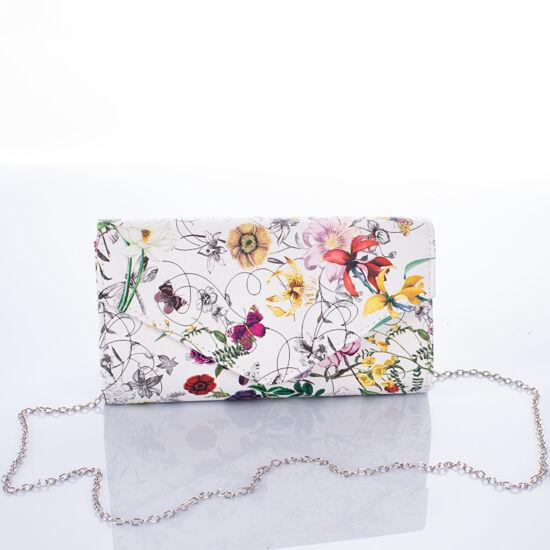 Virágos alkalmi táska