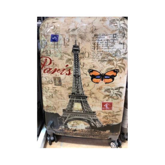 74865e04460d ABS bőrönd szett 3 részes Pillangós - Akciós bőrönd - Etáska ...