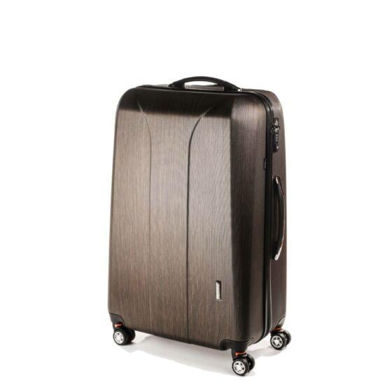 Yearz New Carat M-es bronze brushed bőrönd