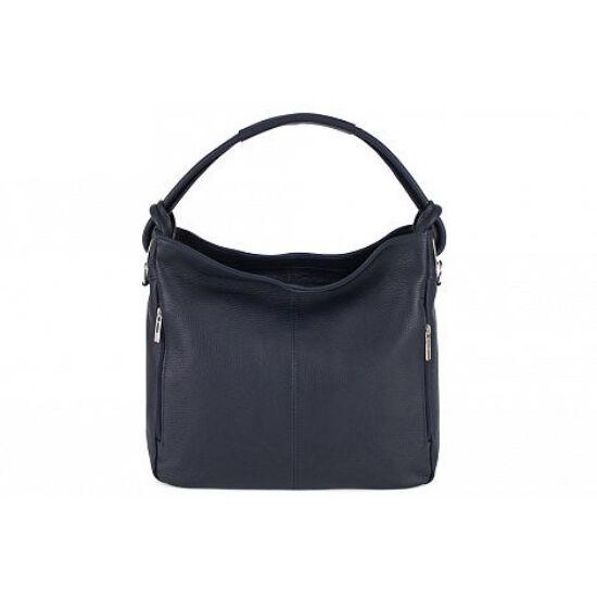Valódi bőr női táska sötétkék színben S7093 BlueNavy