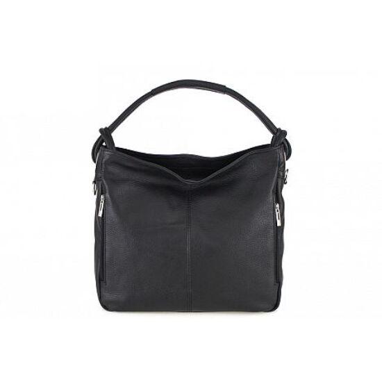 Valódi bőr női táska fekete színben S7093 Black