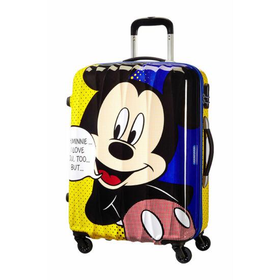 5916044fc96e American Tourister Disney Legends Mickey Spinner bőrönd 65 cm-es. 1; 2