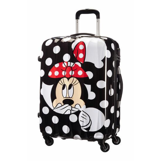 5e46539897a9 American Tourister Disney Legends Minnie Spinner bőrönd 65 cm-es. 1; 2