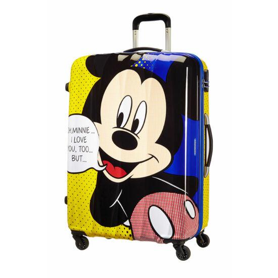 American Tourister Disney Legends Mickey Spinner bőrönd 75 cm-es ... b4abfb1e9b