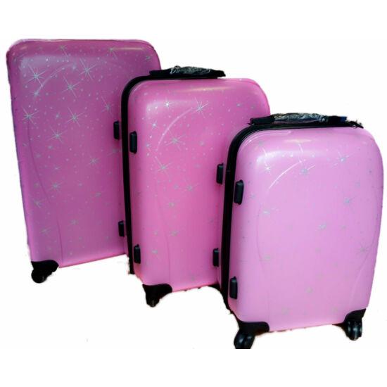ABS  bőrönd szett 3 részes Stars