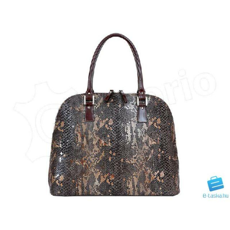 5b7919ef61 Andrea sötétbarna Valódi bőr Valódi bőr női táska Katt rá a felnagyításhoz
