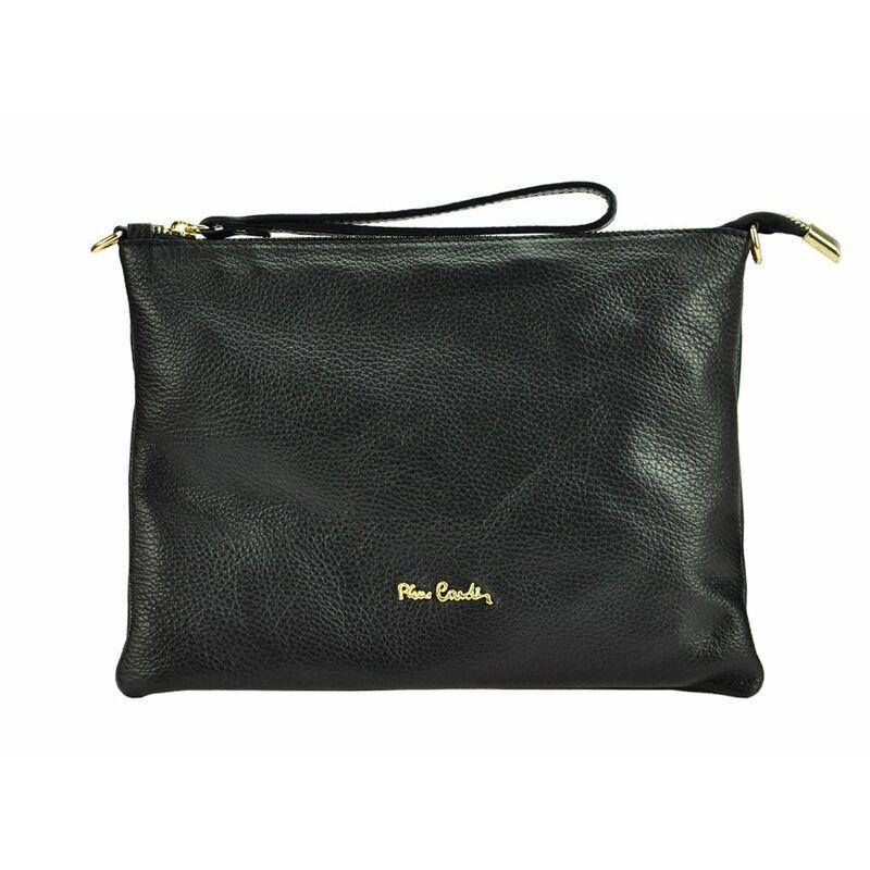 Pierre Cardin fekete Valódi bőr Valódi bőr női táska - VALÓDI BŐR NŐI TÁSKA  - Etáska - minőségi táska webáruház hatalmas választékkal 5a42dbb1ab