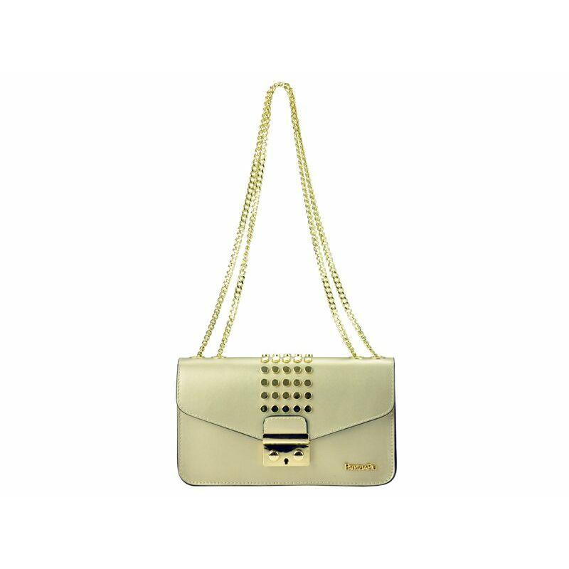 ab1e209fd9 Patrizia Piu Arany Valódi bőr Valódi bőr női táska Katt rá a felnagyításhoz