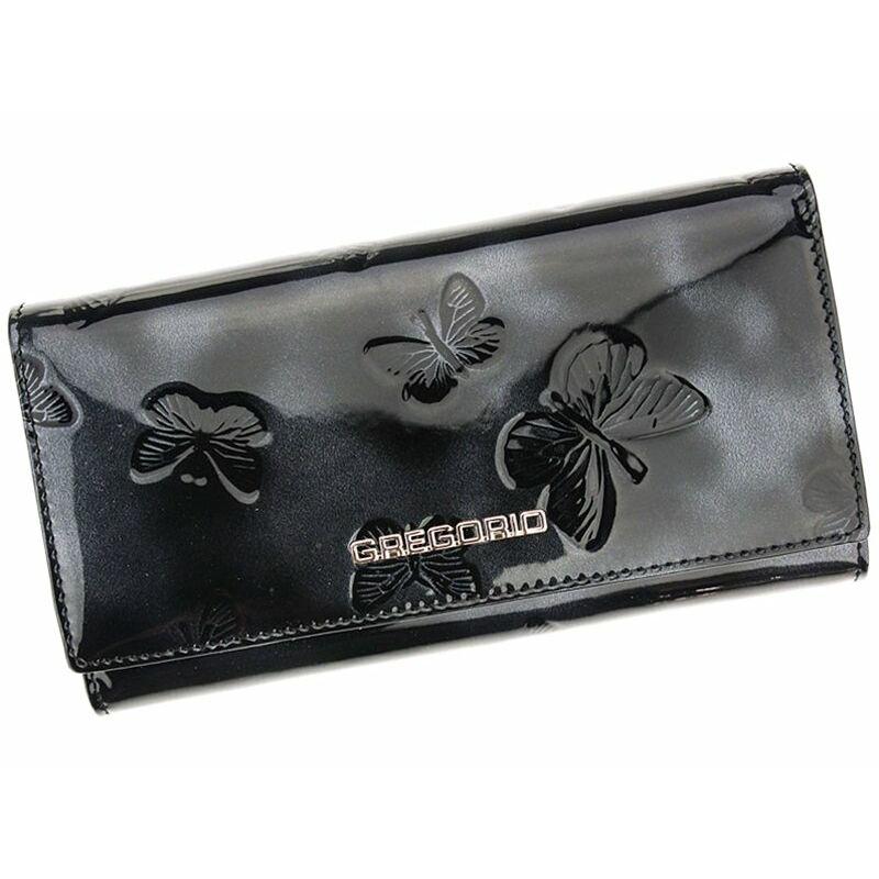 Gregorio fekete Valódi bőr Pénztárca - PÉNZTÁRCA - Etáska - minőségi táska  webáruház hatalmas választékkal 730d520dd6
