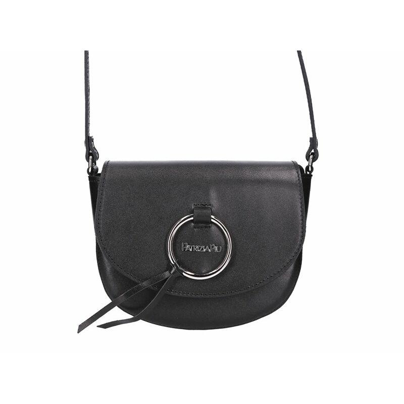 Patrizia Piu fekete Valódi bőr Valódi bőr női táska - VALÓDI BŐR NŐI TÁSKA  - Etáska - minőségi táska webáruház hatalmas választékkal 45ebb0a1a4