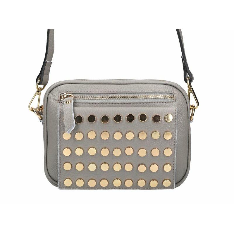 Patrizia Piu Szürke Valódi bőr Valódi bőr női táska - VALÓDI BŐR NŐI TÁSKA  - Etáska - minőségi táska webáruház hatalmas választékkal f180e0a0de