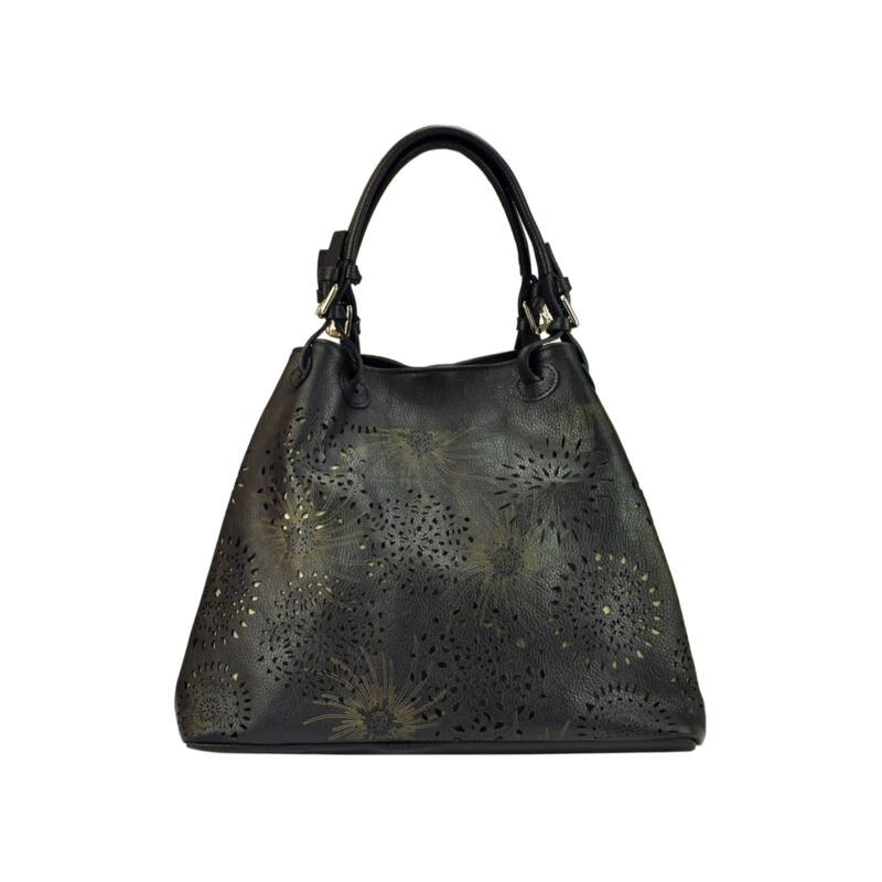 Patrizia Piu fekete Valódi bőr Valódi bőr női táska Katt rá a felnagyításhoz 4729bebf56