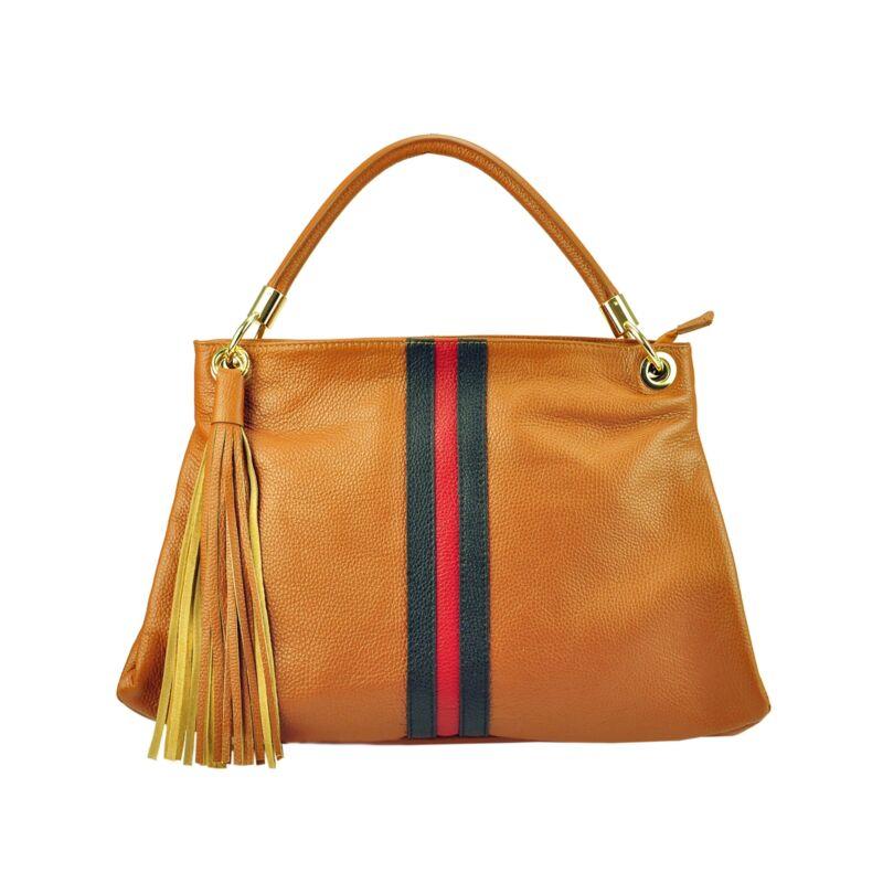 3eacad881a Patrizia Piu Camel Valódi bőr Valódi bőr női táska Katt rá a felnagyításhoz