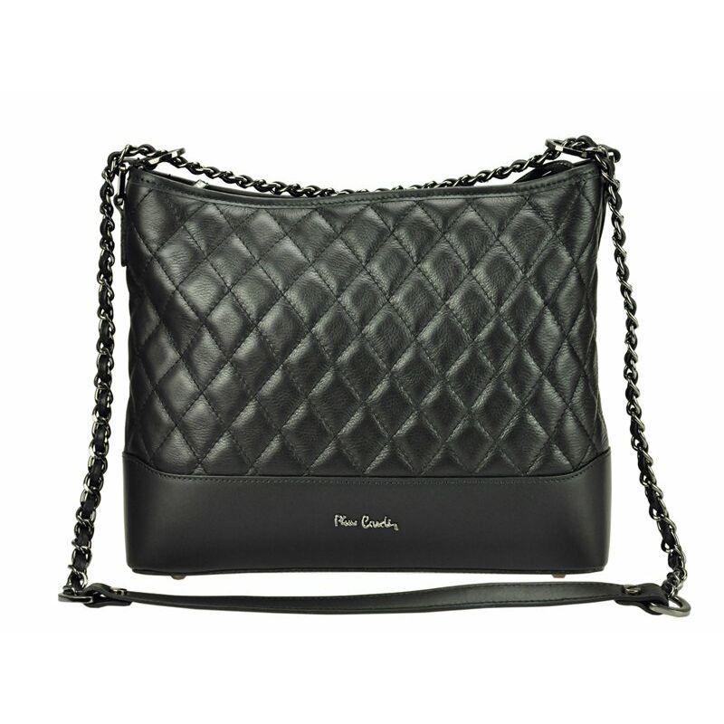 Pierre Cardin fekete Valódi bőr Valódi bőr női táska Katt rá a  felnagyításhoz 3666a1bf6f