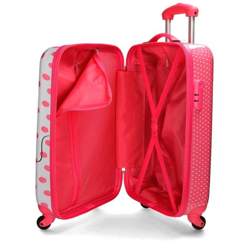 40167959e540 Disney Mickey & Minnie 4 kerekes gyermekbőrönd - GYERMEKTÁSKA ...