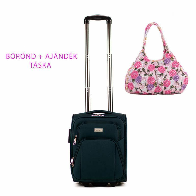 Kis méretű kabinbőrönd + ajándék táska AKCIÓ Katt rá a felnagyításhoz 41803f590d