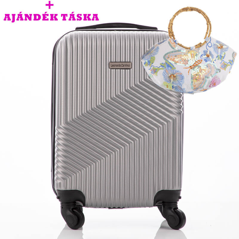 2047f95f9746 Leonardo Da Vinci Bőrönd ÚJ WIZZAIR méret levehető kerekekkel Katt rá a  felnagyításhoz