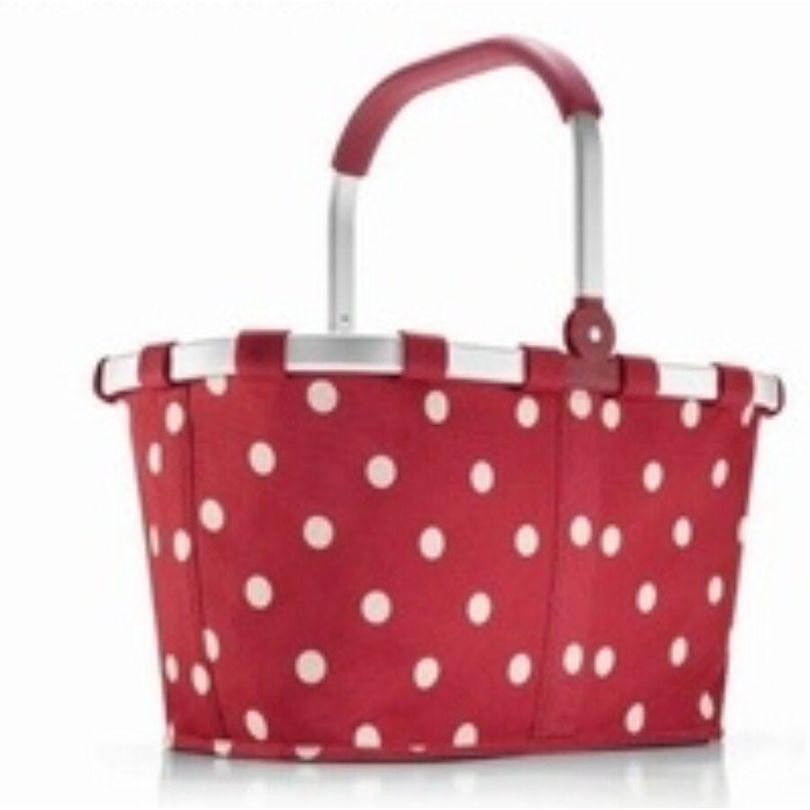 Reisenthel Carrybag piros pöttyös - Női táska - Etáska - minőségi táska  webáruház hatalmas választékkal 55ba63c5a6