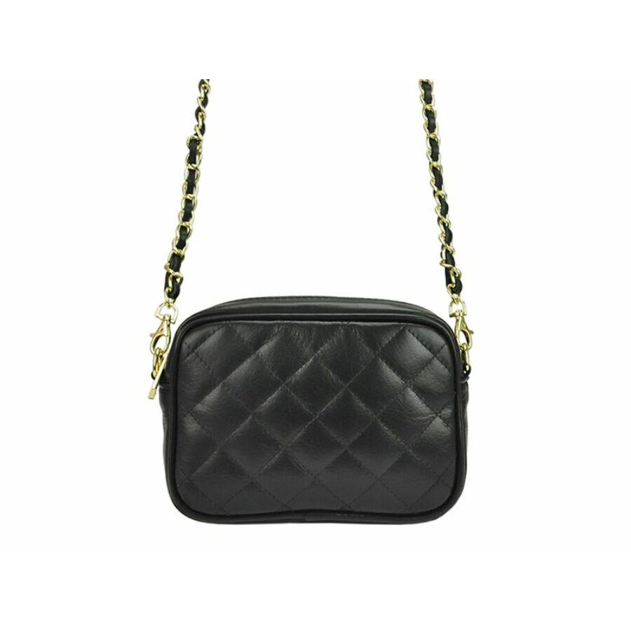 Patrizia Piu fekete Valódi bőr női táska - Valódi bőr női táska ... 646be36b95