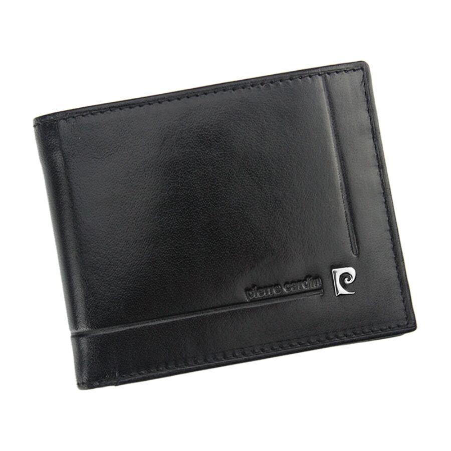 Pierre Cardin fekete Valódi bőr Pénztárca RFID védelemmel - RFID ... fa32697d57