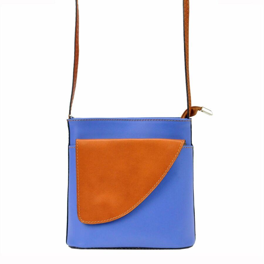 Gregorio kék Valódi bőr Valódi bőr női táska - Valódi bőr női táska ... ca52bfc1da
