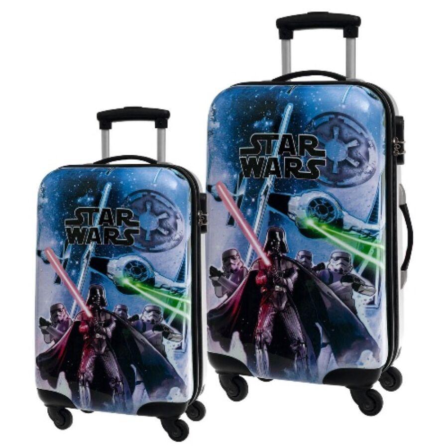 a71a4c328ed4 DI-22415 Star Wars 4-kerekes gyermekbőrönd - Akciós bőrönd - Etáska -  minőségi táska webáruház hatalmas választékkal