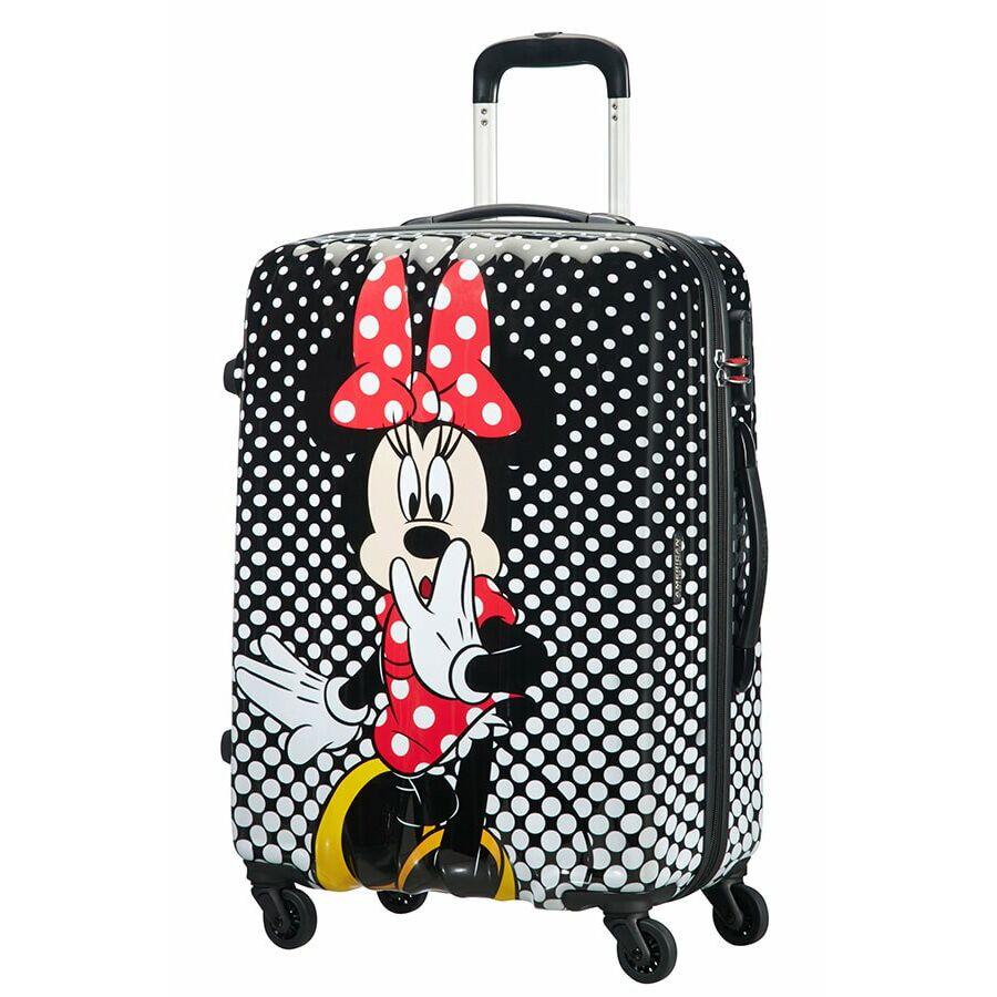 20a042898646 American Tourister Disney Legends Minnie Kiss Spinner bőrönd 65 cm-es*