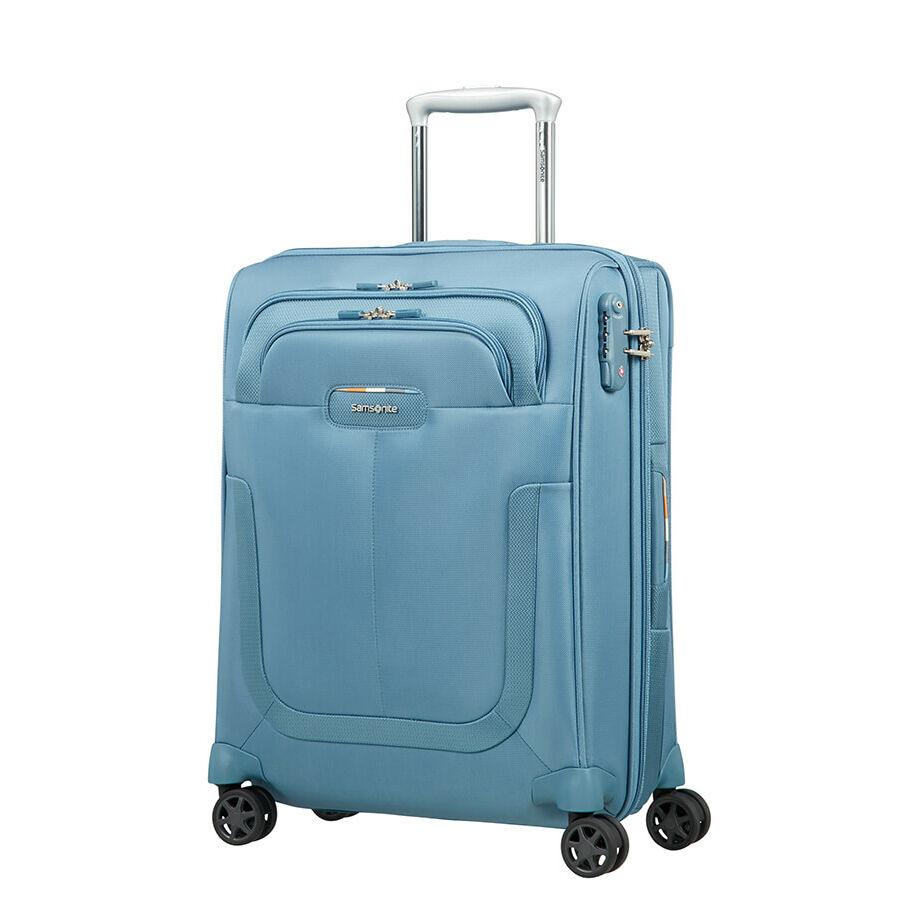 244c379ed194 Samsonite Duosphere Spinner bővíthető bőrönd 55 cm - Kabin bőrönd ...