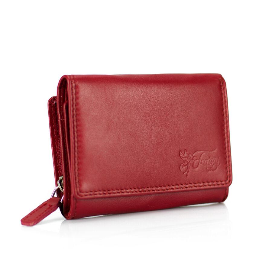 Fairy valódi bőr piros női pénztárca - Pénztárca - Etáska - minőségi ... df14f79a6b