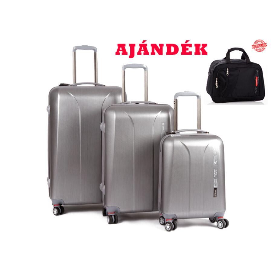 9c39b5b19082 Yearz Bőrönd szett Spinner 4 kerekű változat New Carat 5 év Garanciával +  AJÁNDÉK UTAZÓTÁSKA